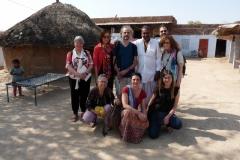 le groupe avec le chef Bishnoï
