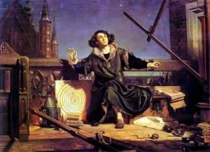 Nicolas Copernic, auteur de l'héliocentrisme